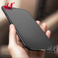H&A Luxury Hard Back Plastic Matte Case For iPhone 8 7 7 Plus Full Cover PC Phone Case For iPhone 5 5S 6 6s 7 8 Plus Case(China)