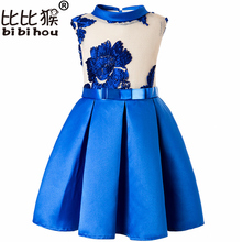 Buy Winter Baby Girl embroidery Silk Princess Dress Wedding party Kids Dresses Toddler Girl Children Fashion Christmas Clothing for $13.73 in AliExpress store