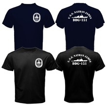 New The Last Ship USS Nathan James DDG-151 US Navy Seal TV Series T-shirt Mens 100% Cotton Tee Shirt