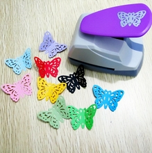 complex hollow design 35x48mm big size butterfly shape DIY craft punch save effort type scrapbook hooby use cards making tool