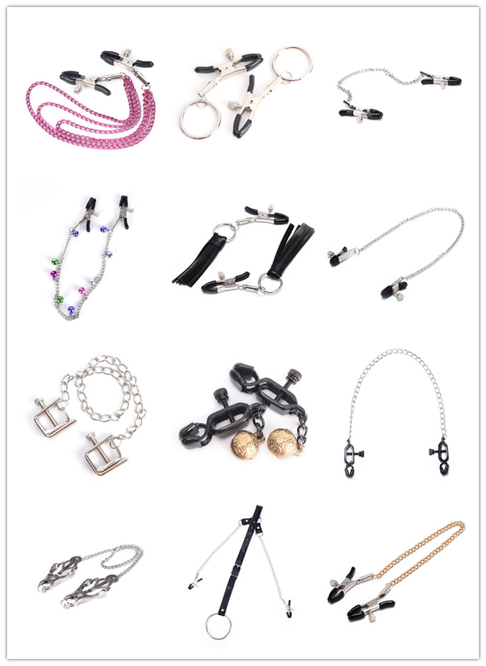 Breast Clip For Women Milk Clip Nipple Clamps With Metal Chain Couples Sex Nipple Clamps Multi Styles Bdsm Exotic Accessories
