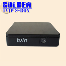 1PC Original mini Set Top Box of TVIP Box Linux or Android 4.4 Double System support H.265 1920x1080 quad core  tvip 410
