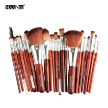 22Pcs Makeup Brushes Set Foundation Power Contour Concealer Blush Brush Eyeshadow Eyeliner Lip Cosmetic Beauty Make Up Brush Kit(China)