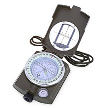 CC4580 Military Lensatic Prismatic Sighting Compass Waterproof Lens Digital Geological Marine Camping Sport Equipment with Pouch