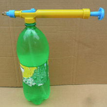 Useful Mini Juice Bottles Interface Plastic Trolley Gun Sprayer Head Water Pressure