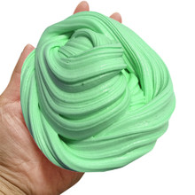 MUQGEW Christmas Antistress gifts Fluffy Floam Slime Scented Stress Relief No Borax Kids Toy Sludge Toy Juguetes W06