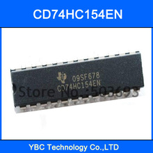 20PCS 74HC154 CD74HC154EN 74154 Logic 4-to-16 Line Decoder / Demultiplexer DIP-24
