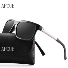 AFOUE Brand Name Retro Sunglasses Men Polarized Lens Travel Sun Glasses For Driving Golfing Eyewear Female Accessories