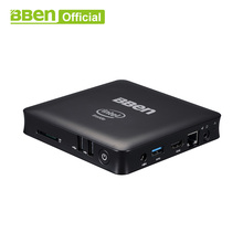 Bben мини-компьютер Mn11 Z8350 4 ядра Mini PC Windows10 Lan ТВ коробка USB3.0 + 2,0 WI-FI настольного компьютера в поле 2 ГБ/32 ГБ(China)