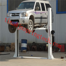 4T Hydraulic Lift two post car lift with two cylinders for car Maintanence