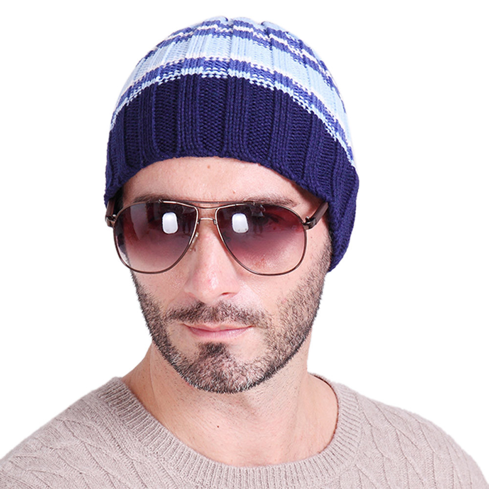 New Brand Beanies KnitWinter Unisex Knitting Ski Crochet Slouch Hat Cap Men And Women Beanie Hip-Hop Hat Nov24Îäåæäà è àêñåññóàðû<br><br><br>Aliexpress