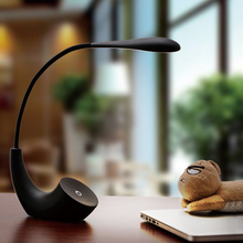 USB LED Desk Lamp Rechargeable Table Lamp Touch switch Dimmable Table Light Eye protection For Children Table Light Adjustable(China)