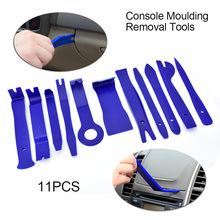 11PC Car Upholstery Removal Kits Auto Interior Radio Panel Door Clip Windows Trim Removal Installer Pry Repair Tool Set