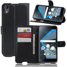 For BlackBerry Neon / DTEK50 Case Stand Wallet Style Flip PU Leather Case For Fundas BlackBerry DTEK50 5.2 inch With Card Holder(China)