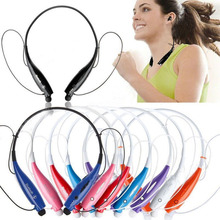 Stereo Bluetooth Headset Wireless Headphone Neckband Style Earphones for iPhone for Samsung Bluetooth Cellphone Wholesale(China)
