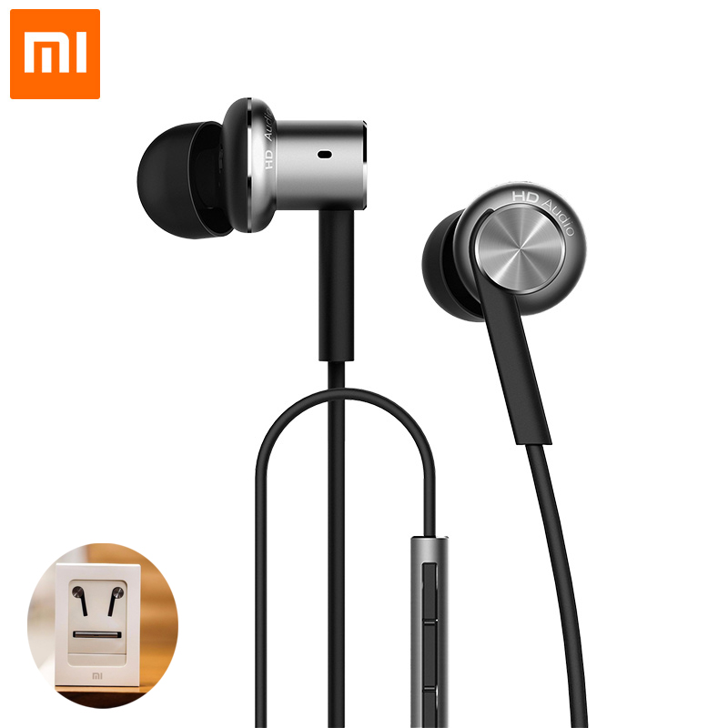 2017 NOW Original Xiaomi Hybrid HD In Stock Earphone with Mic Remote Headset for Xiaomi Redmi Red Mi Mobile Phone In-Ear<br><br>Aliexpress