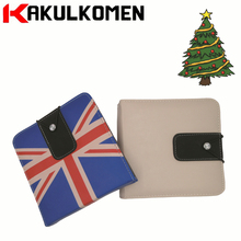 Fashion leather UK Flag CD/DVD Disk Storage Holder Carry Case Wallet Box 40 Disc Capacity Interior Organizer Cover for Mini(China)