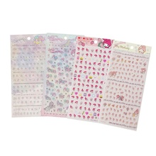 20 Pcs/lot My Melody Twin Star PVC Stickers For Diary Decorative Scrapbooking Stick Label Diary Stationery Album Stickers(China)