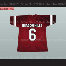LANSHITINA Saved By Bell AC Slater 6 Bayside American Football Jersey(China)