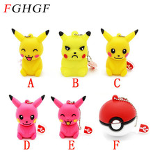 FGHGF Pen drive cartoon cute Pikachu pokemon pendrive 32gb 16gb 8gb 4gb usb flash drive memory stick poke ball U disk gift hot