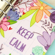 2016 New Arrive Jamie PP Separator Pages BLOOMING Flower 5 sheets Planner Divider Pages(China)
