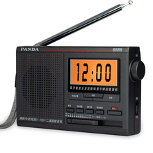 Panda 6128 Radio FM / medium wave / shortwave 12 band broadcast campus college entrance examination timing digital radio(China)