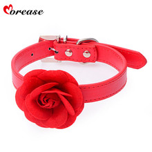 Buy Morease Flower Collar Necklace PU Leather Adult Game bdsm Sex Toy erotic fetish brinquedos sexuais sexo bondage harness