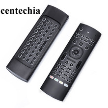 Centechia MX3 Backlight 2.4G Wireless Keyboard Controller Remote Control Air Mouse for Smart Android TV Box mini PC HTPC Project