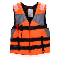 With Whistle Adult Swimming Life Jacket Professional Life Vest Drifting Boating Survival Fishing Safety Jacket Water Sport Wear(China)