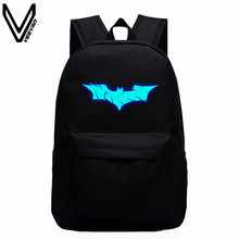 2017 New Batman Backpack Super Hero Spiderman Bags For Boys Girls School Backpacks Kids Best Gift School Bag Children Backpack