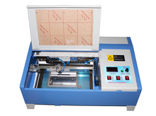 CO2 laser engraving machine 3020 40W with digital function laser cutter