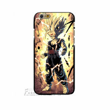 Japanese Cartoons Anime Series Dragon Ball Z Durable Style Hard White Cover Case For Apple iPhone 4 4G 4S 5 5S SE 5C 6 6S 7 Plus(China)