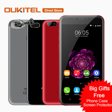 Original OUKITEL U20 Plus 4G Mobile Phone Android 6.0 MTK6737T Quad-Core Cell Phone 2GB+16GB 13MP 5.5inch Fingerprint Smartphone