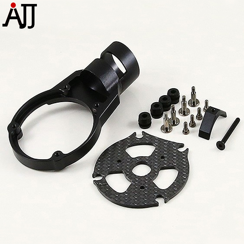 RCTIMER Carbon Fiber 25mm CNC Tube AntiVibe Motor Mount Black Red For S1000 S1100 RC Quadcopter<br>