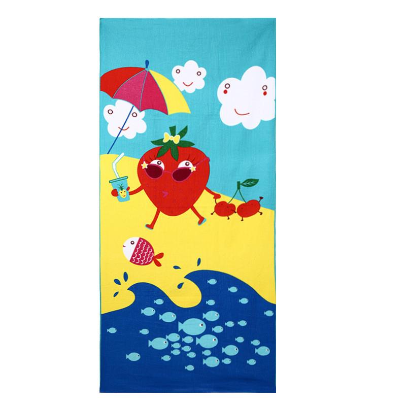 Micro Fiber Printed Beach Towel 140*70cm 9