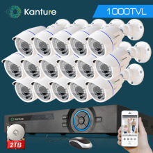 16channel hdmi 1080p dvr system HD 16pcs CMOS 1000TVL waterproof security camera video Surveillance kit 16ch 1080P NVR USB WIFI