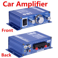 Free Shipping 2X power amplifiers Digital Teli A6 Car Amplifier Motorcycle Boat Stereo Audio Amplifier For MP3/iPod car styling