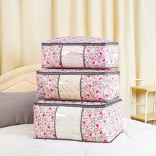 High Capacity Quilt Storage Bag Clothes Tidy Pouch Luggage Organizer Portable Container Waterproof Storage Zipper Pouch(China)