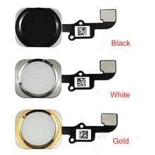 OEM new home botton Touch ID Flex Cable on off black/white/gold For iphone6/iphone6 Plus free shipping