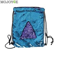 Buy Women Sequin Backpack Fashion Bling Drawstring Bag Female Small Travel Backpacks Teenage Girls Backpack Mochila Sac Dos for $8.11 in AliExpress store