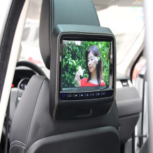 "HD 9"" Inch LED Digital Screen Portable Car Headrest Monitor DVD Player + 32 Bit Game Joystick HDMI USB IR FM Remote Speaker"