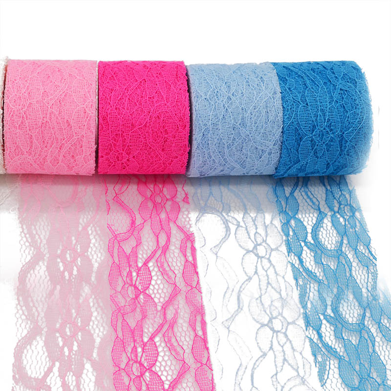 5 CM*10 Yards Tulle Roll Spool Tutu Lace Roll Netting Fabric Table Runner Decoration Tutu Skirt Sash Bow DIY Crafts Party Suppl