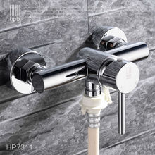 HPB Brass Hot and Cold Water Garden Outdoor Faucets Washing Machine Connector Tap Bibcock Laundry Utility Faucets Robinet HP7311