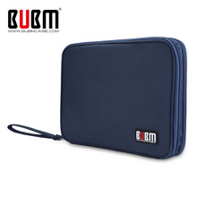 BUBM Universal Electronics Accessories Travel bag / Hard Drive Case / Cable organizer/ Protective Sleeve Pouch Case Bag for iPad(China)
