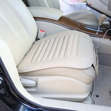 Car-Styling Universal Seatpad PU Leather Car Seat Covers For Auto Car Office Chairs Interior Parts 2016 Wholesale