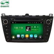 HD 1024*600 ROM 16GB Quad Core Android 5.1.1 Stereo GPS Radio Car DVD GPS For Mazda 6 Mazda6 2008 2009 2010 2011 2012