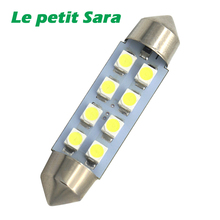 1pcs White Canbus Festoon LED lights 36mm C5W C10W DE3175 6 SMD 5630 5730 No Error Free Auto Car Interior Map Lamp Reading Dome(China)