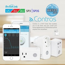 Broadlink SP3 SP3s Smarthome 16A+timer EU US AU wifi power socket plug outlet,APP Wireless Controls for ios pad Android,domotica