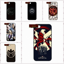Agents of S.H.I.E.L.D shield Phone Cases Cover For iPhone 4 4S 5 5S 5C SE 6 6S 7 Plus 4.7 5.5  #DF0972