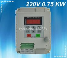 0.75KW inverter VFD 220V VARIABLE FREQUENCY DRIVE INVERTER single phase input single phase output china cheap wholesale(China)